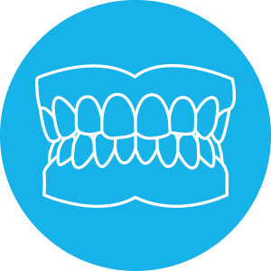 Denture blue