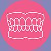 Denture pink small